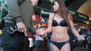 Female Police Impersonator Gets Stripped Naked Gone Sexual
