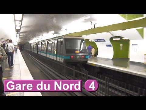Métro de Paris : Gare du Nord | Ligne 4 ( RATP MP89 )