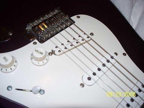 Upgrading a Fender Squier Strat: humbucker installation with a Seymour Duncan JB Jr. pickup