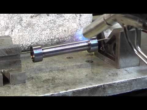 Blackening / Blueing Mild Steel Component Protective Finish Gun Metal Black.