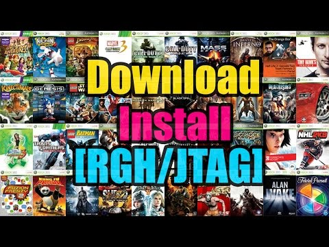 Jtag Tutorials | Downloading and Installing Games