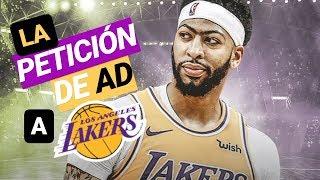 LA PETICIÓN de Anthony DAVIS a Los Ángeles LAKERS de LeBron James  | Nuevos FICHAJES NBA 🤔