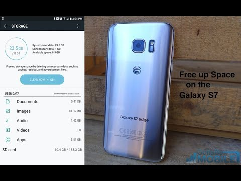 How to Free Up Space on the Galaxy S7