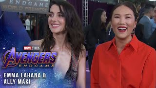 Emma Lahana and Ally Maki bring the Mayhem LIVE at the Avengers: Endgame Premiere