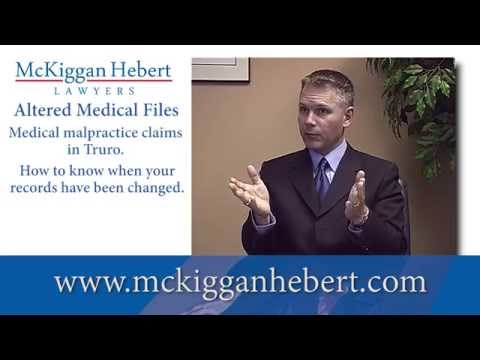 Altered Medical Files   How to know when your records have been  changed  Truro