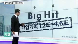 Download [앵커리포트] 세계가 방탄소년단(BTS)주목하는 이유는...bIg Hit 기업가치 분석...올해 주식시장 상장 예상..연도별 국내 콘텐츠 수출액 분석 Video