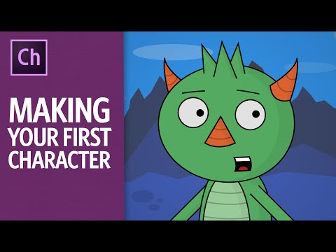 Making Your First Character - ARCHIVED (Adobe Character Animator Tutorial)