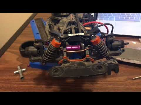 Hpi E10 sway bar kit install on a Sprint 2 flux, (front end install) *** easy***