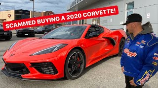 TAKING DELIVERY OF MY 2020 C8 CORVETTE! AND I GOT SCAMMED...