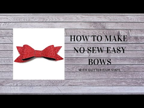No Sew Easy Bow