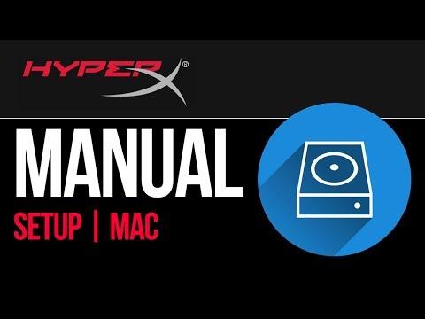 HyperX external hard drive Set Up Guide for Mac 2019