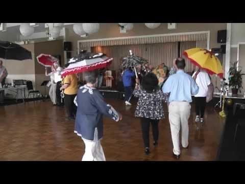 Second line,  Umbrella Dance -  MHJS Jammers