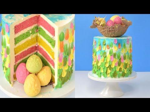 BUTTERCREAM CAKE for EASTER by HANIELA'S