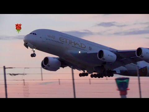 **Heavies** Evening - Night Takeoffs RW27L Inc.9 A380s ...more London Heathrow ✈️✈️