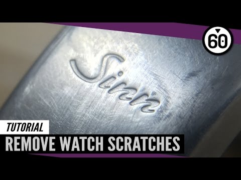 How-to: Restore Scratched Watch Clasps – 60CLICKS