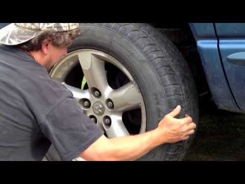 Loose & Worn Ball Joint, Tie Rod and Wheel Bearing