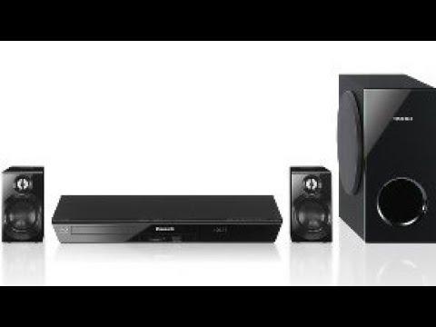 2.1 Panasonic SA BTT100 Blu-ray  home theatre surround sound system