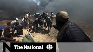 Israeli military shoot and kill Palestinian protesters in Gaza