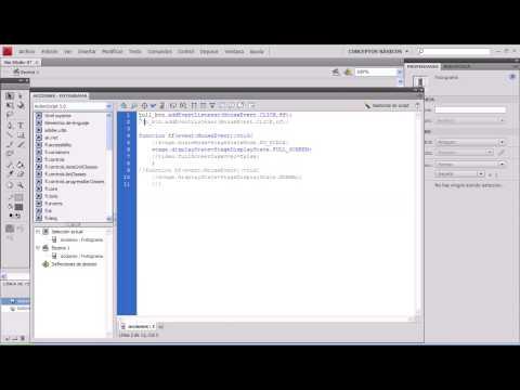 pantalla completa-fullscreen en flash cs4(parte 1)