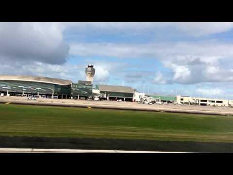 Takeoff from San Juan Puerto Rico Airport