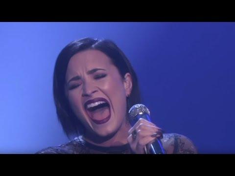 Demi Lovato   REAL VOICE (WITHOUT AUTO-TUNE)
