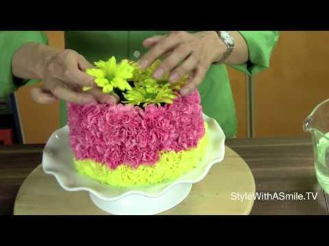 How to Make a Floral Cake: A Floral Arranging Favorite