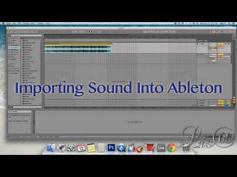 How To Import A Sound Into Ableton