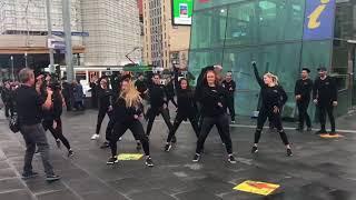 FX Entertainment Aus presents......SAMSUNG GALAXY Flashmob Product Launch 2017, Federation Square