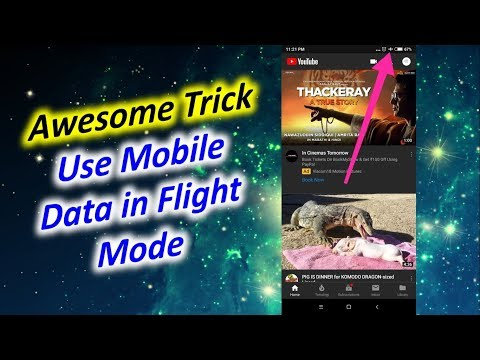 How to Use Mobile Data in Flight Mode Android