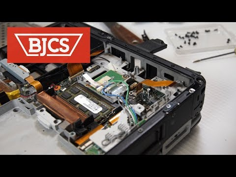 How to Replace the Panasonic Toughbook CF-31 NIC