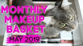 Monthly Makeup Basket   Shop My Stash May 2019