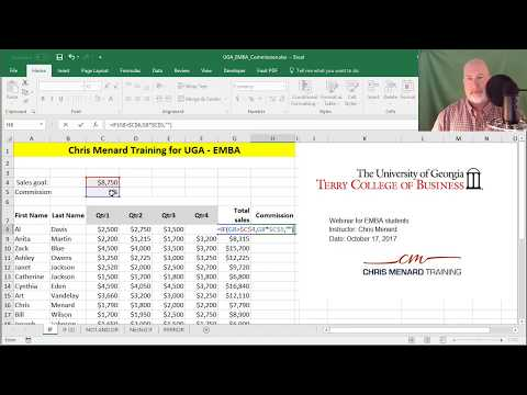 Advanced VLookup with nested functions by Chris Menard