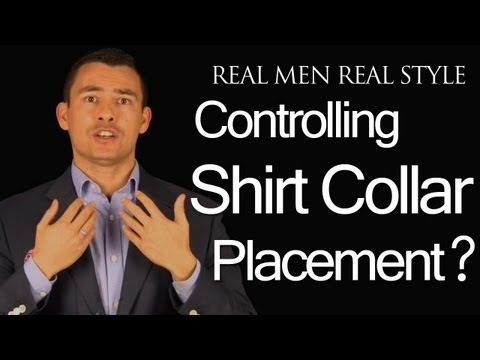 Shirt Collar Placement - Men's Dress Shirts Collar Perfect Fit - Collar Style | Cut | Point Length