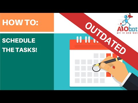 AIO bot - How To Schedule Tasks