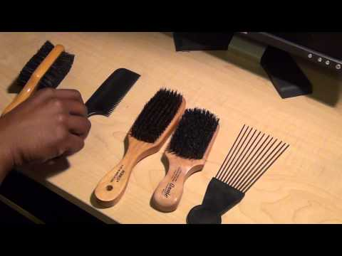 Gentleman's Corner - Hair brushes and combs (types & uses)