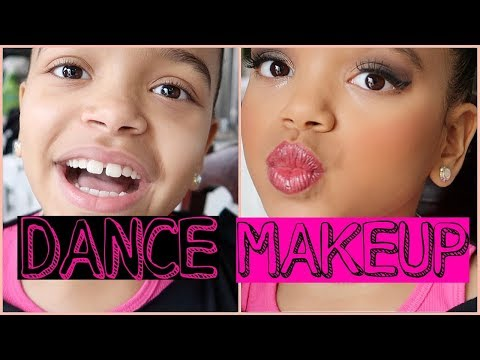 7 Year Olds MAKEUP ROUTINE: Competition Dance!