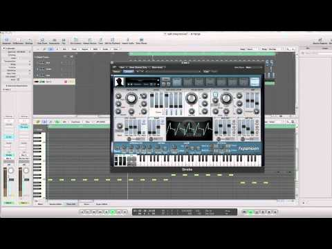 How to make a progressive house synth using strobe