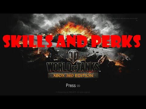World of Tanks Xbox 360 - Skills and Perks