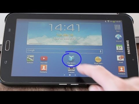 Galaxy Tab 3 how to import eBook