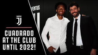 CONTRACT EXTENSION | Cuadrado and Juventus together until 2022!