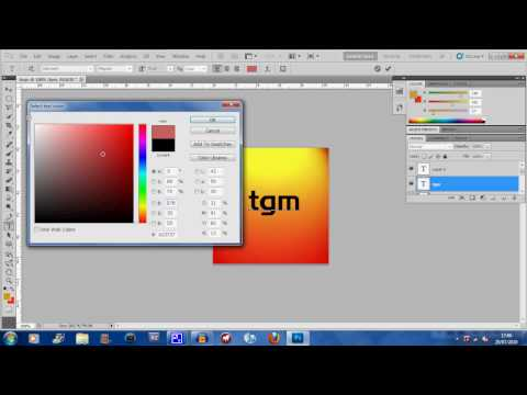 Adobe Photoshop Tutorial CS5- How To Make A Youtube Icon (HD)