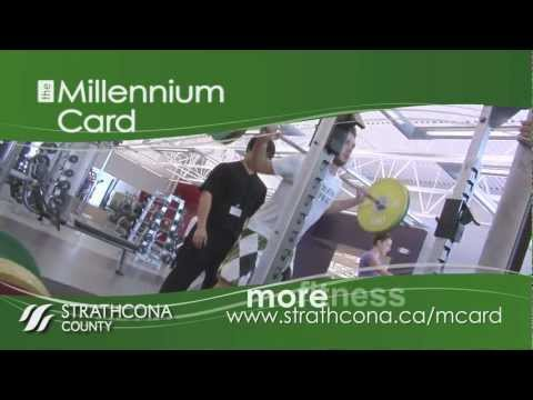 The Millennium Card - swim, skate, play, ski, get fit