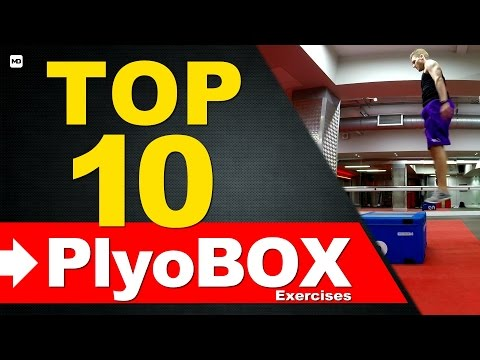 Top 10 Plyo Box Exercises (DRILLS/WORKOUT) | Plyometrics Box Jumps Training