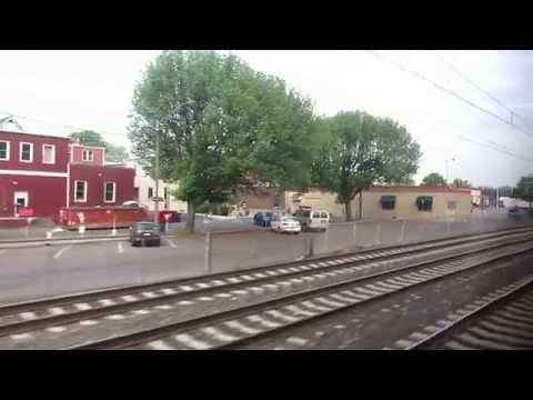 Amtrak #607 Keystone service ride Philadelphia - Lancaster