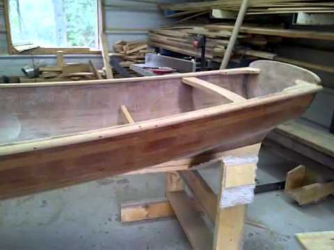 Building a Whitehall Rowboat