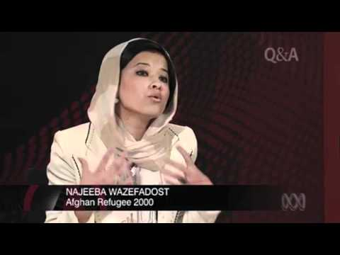 Najeeba's view on refugees in Australia