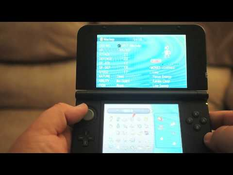 Pokemon X and Y Wonder Trade Gameplay