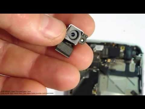 How to replace camera Apple iPhone 4S