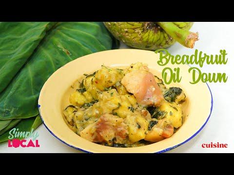 Breadfruit Oil Down