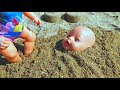 Download  Baby Born Dolls Playing In The Sand On The Beach - Playing Dolls MP3,3GP,MP4